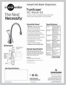 Insinkerator Hot Water Dispenser Manual