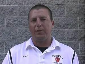 Powell High School football coach Matt Lowe on the 2010 ...