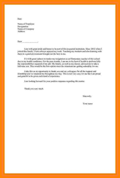 Bad Letter by 7 Resignation Letter Due To Bad Resignition Letter