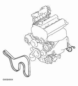 2008 Mitsubishi Lancer Serpentine Belt Diagram