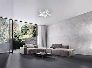 Luminaire Design Led : plafonniers led e luminaire plafonniers ~ Teatrodelosmanantiales.com Idées de Décoration