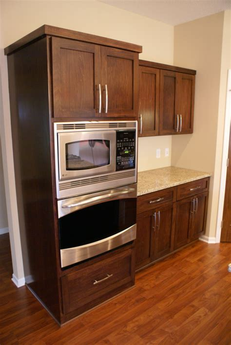 dark stained poplar cabinets  images wood kitchen