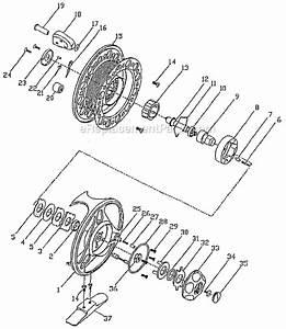 Pflueger 1690 Parts List And Diagram   Ereplacementparts Com