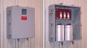 Medium Voltage Capacitor Banks  Multi-step