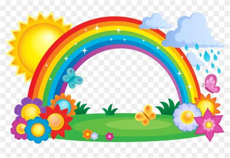 rainbow cloud clip pony magical unicorns and