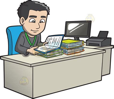 clipart bureau office worker clipart pixshark com images