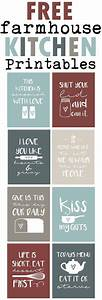 Free Farmhouse Inspired Kitchen Printables-Funny Country