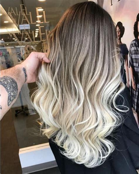 Ombré Hair Blond Polaire Ombr 233 Hair 15 Inspirations Qui Vont Vous Faire Craquer Mahasoa