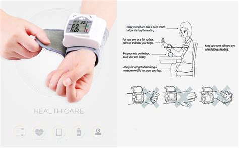 Amazon.com: Blood Pressure Monitor Wrist Adjustable Wrist