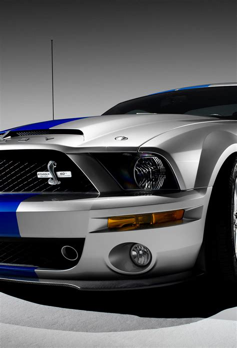 Ford Mustang Wallpaper Iphone X by Ford Mustang Gt500 Wallpaper For Iphone X 8 7 6 Free