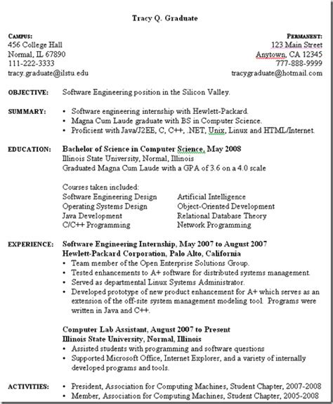 Categories For Resume by 3 Useful Websites For Free Downloadable Resume Templates