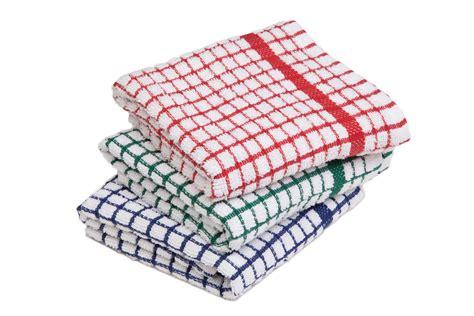 Free Kitchen Island - mono checkered tea towels economy textile