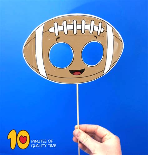 football paper mask  kids  minutes  quality time