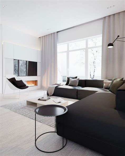White Interiors by Minimalist Black And White Interior Decoholic