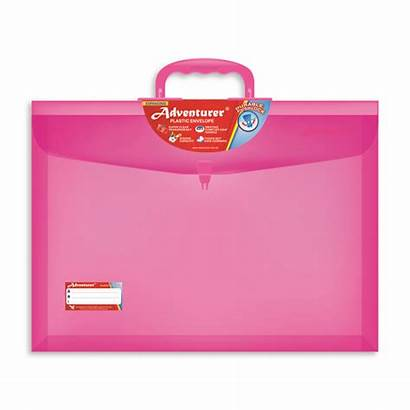 Envelope Plastic Adventurer Legal Envelopes Pushlock Storage