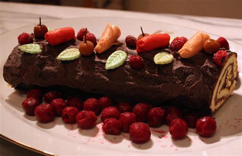 cuisine buche de noel bûche de noël au chocolat mamy la cuisine de