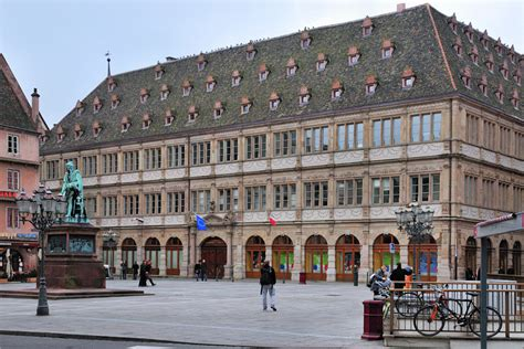 chambre commerce strasbourg strasbourg chambre de commerce bild foto lothar