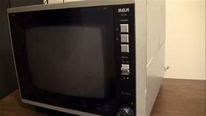 1985 Rca Xl-100 9 U0026quot  Color Tv