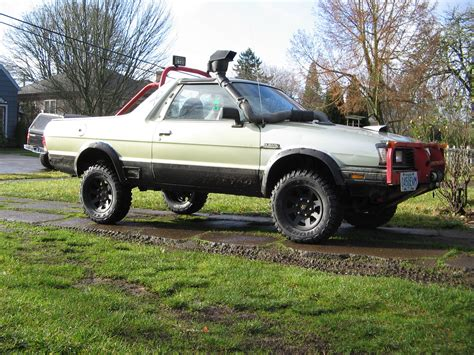 floyds  subaru brat specs  modification info