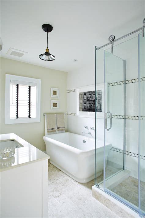 Modern Bathroom With Tub by Bathroom Shower And Tub Combination Ideas 15030