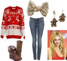 Tacky Christmas Outfit on Pinterest