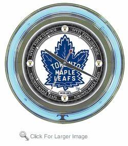 NHL Vintage Toronto Maple Leafs Neon Clock only $99 99