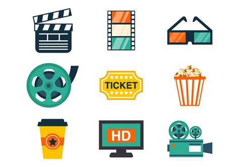 Free Vector Graphic Free Photos Free Icons Free Cinema Icons Vector Free Vector Stock