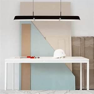 Pendelleuchte Für Langen Tisch : l ngliche acrylglasleuchte mit blendfreiem schirm ~ Michelbontemps.com Haus und Dekorationen