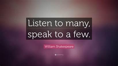 Quotes Desktop Wallpapers Shakespeare Quote William Speak