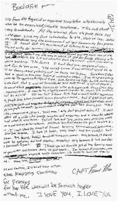 kurt cobain letter de afscheidsbrief kurt cobain nirvana what about 22673 | su5