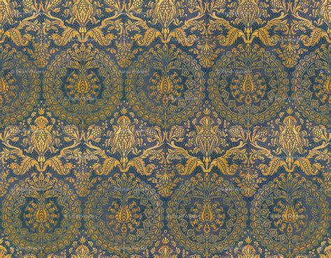 gold  blue wallpaper wallpapersafari