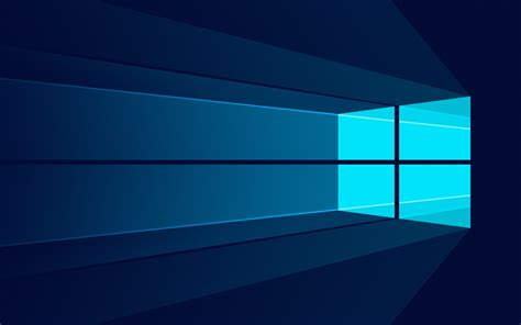 wallpaper windows 10 minimal stock logo microsoft 4k
