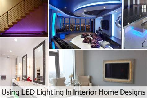 led home interior lights led lighting in interior home designs