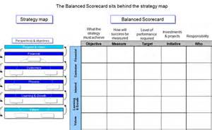 Excel Dashboard Template Alfa Img Showing Gt Balanced Scorecard Strategy Map Template Blank