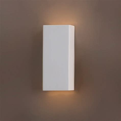 ceramic column geometric wall sconce contemporary