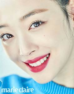 Photo )) Sulli Photoshoot for Marie Claire 2017 April ...