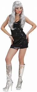 black disco dress for women With robe disco femme
