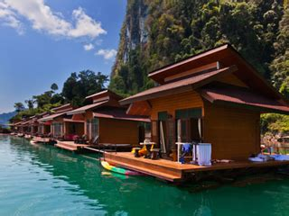 Floating Bungalows Khao Sok Lakekhao Sok Lake Floating