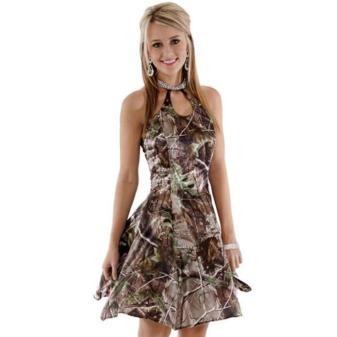 Realtree Halter Camo Dresses   Made in USA   Free Shipping