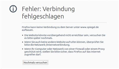 Zahlreiche Internetseiten Aktuell Nicht Erreichbar