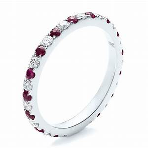 Ruby ring april 2015 for Ruby wedding band rings