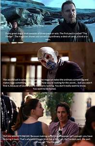 "Quote from ""the Prestige"" applied to Christopher Nolan's ..."