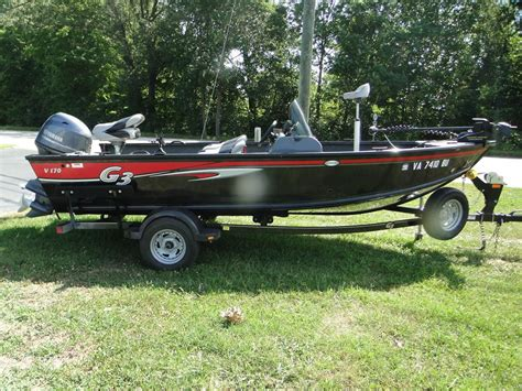 G3 Boats Used used bass g3 boats for sale boats