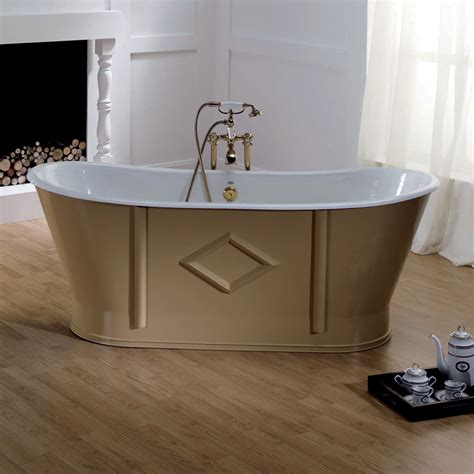 riverniciare vasca da bagno vasca da bagno freestanding in ghisa verniciata e decorata