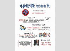Week 16 Update and Spirit Week Reminder! Da Vinci Design