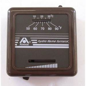 32300 Atwood Mechanical Heat Only Wall Thermostat Black Rv
