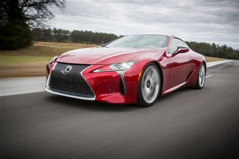 press release lexus lc dynamic luxury coupe lands