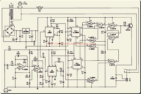Simple Blare Switch Circuit Diagram