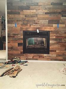 pallet wall fireplace Fireplaces
