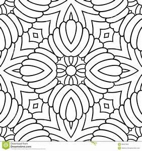 Bettwäsche Orientalisches Muster : orientalisches schwarzweiss muster vektor abbildung bild 36427959 ~ Whattoseeinmadrid.com Haus und Dekorationen